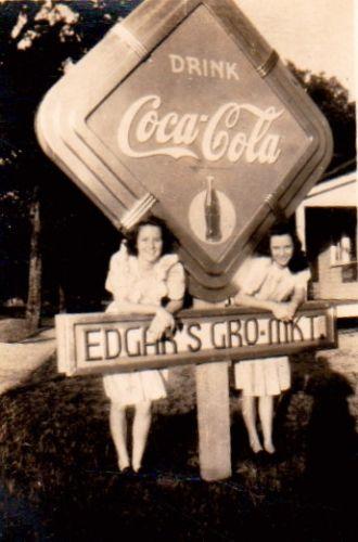 Edgar Cafe, Florida circa 1940