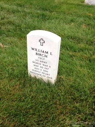 William Lee Birch gravesite