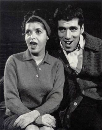 Marilyn Cooper and Elliot Gould