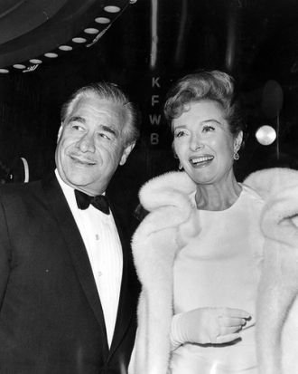 Greer Garson and Buddy Fogelson