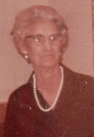 Minnie Cordelia Pendergraft