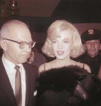 John and Marilyn Monoe.