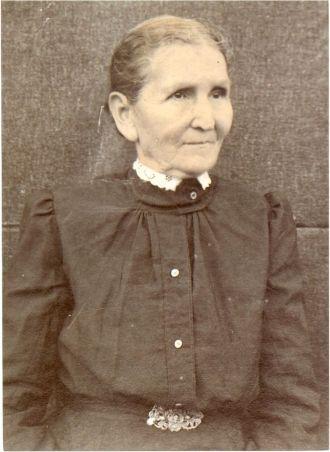 Martha Ann (Hudson) Barker c1900