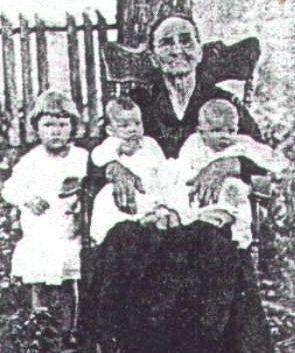Angelette Elizabeth Turney Thomas and babies