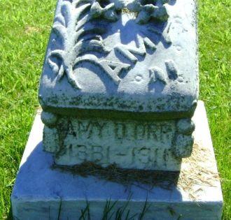 Amy Delena (Hopkins) Orr gravesite