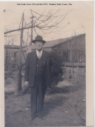 John Sositko, c.1950's