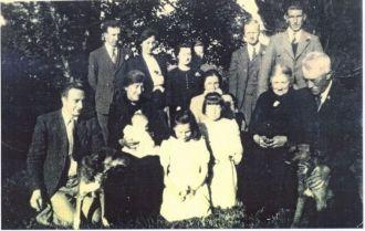 Kelly Clan with Edward Mullin