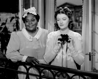 Louise Beavers and Myrna Loy.
