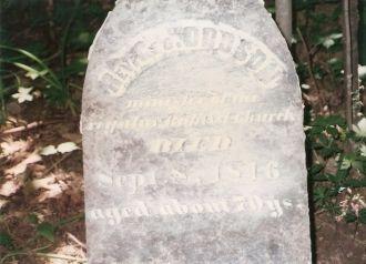 Rev. George Dodson 1773 -1846 Eagle, Boone, Indiana