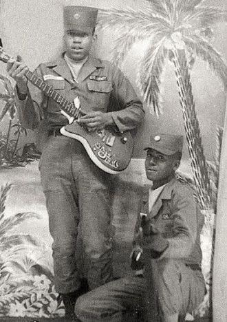 Jimi Hendrix & Billy Cox