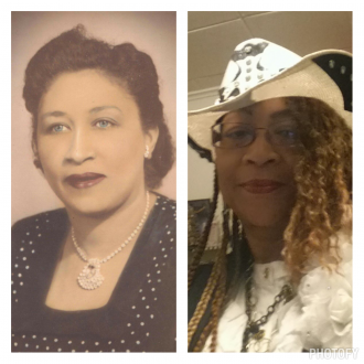 Lucille and Tamie Shoemaker