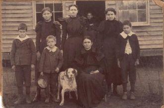 Stem Family, Hackett Arkansas
