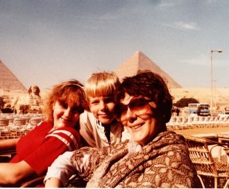 Sharon, Beth and Rob Wirey, 1982