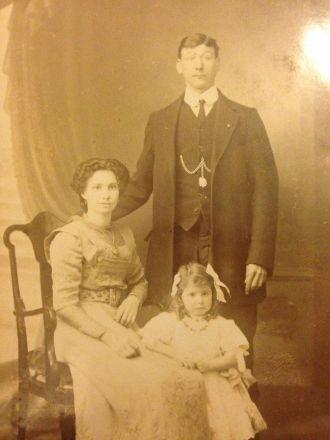 Edith Hunt family