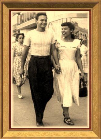 Bob Clark and Margaret Ortiz