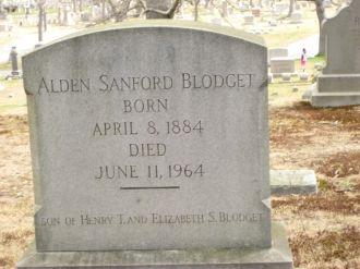 Alden Sanford Blodget gravesite