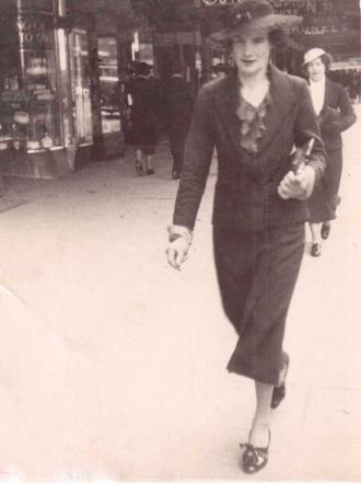 Alfreda Elizabeth Lowman wife of Patrick Vickers Corbett