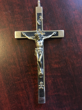 Schlimgen Cross from Germany. Front Side 1 of 2.