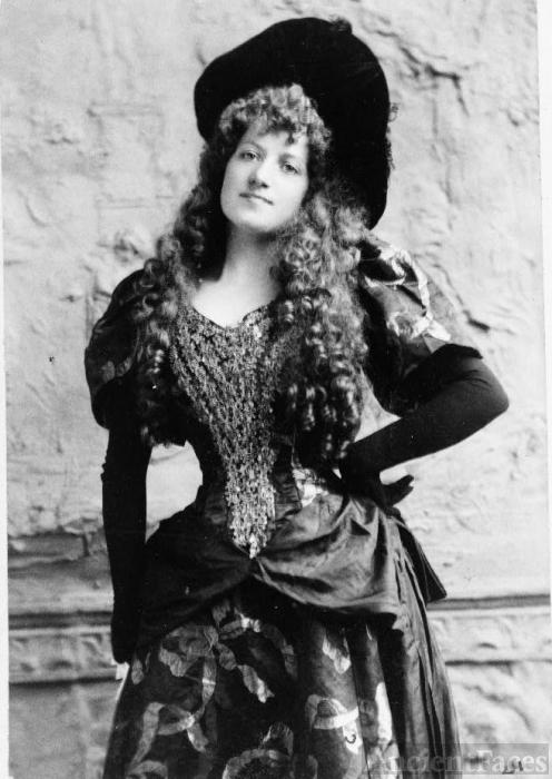 Lottie Collins 1892