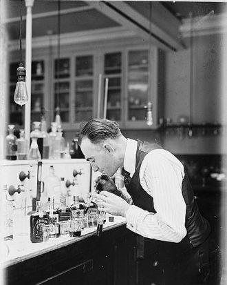 Chemist G.F. Beyer