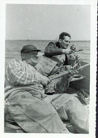 Frank Riegel & Louis Schreiner, New York 1960