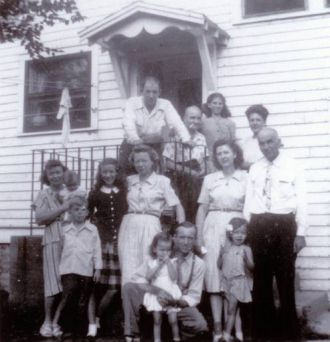 Flaws Family Reunion 1947
