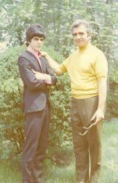 Frank and Joseph Nania 1970 New York