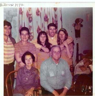 Edgar Burden family