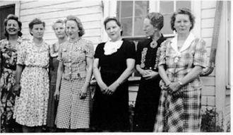 Gerberding Sisters, South Dakota