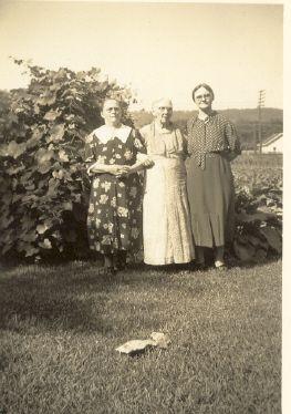 Ida, Margaret, and Anna Carr