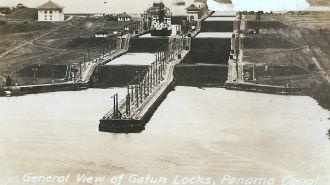 Gotun Locks, Panama Canal