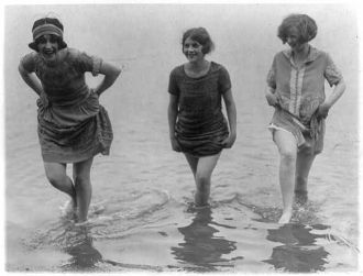 1924 Bathing Suit Models