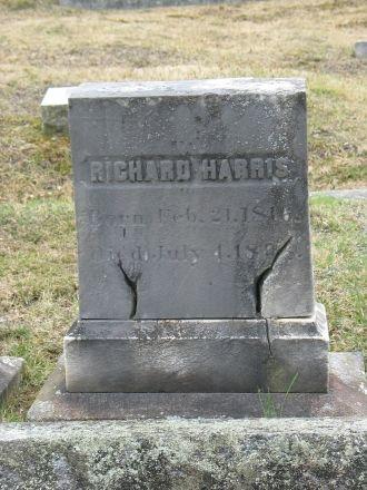 Richard Harris gravestone