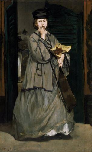 Victorine Meurent, Street Singer