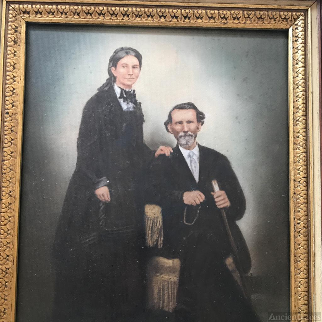 Col. Henry Leonard and Eliza Tharpe