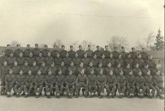 No.1 Platoon 'A' Coy. No. 20 C.A.(B)T.C.