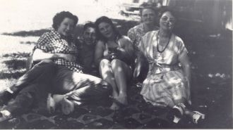 Family in Lewiston, CA abt 1960