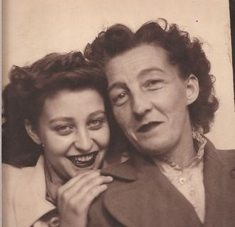 My mom & grandmother