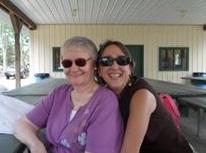 Judy and Geraldine Reinert