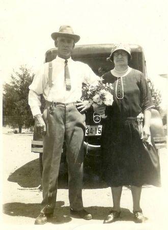 Eli Bromley and wife Clara