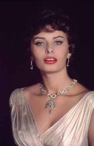 A photo of Sophia Loren