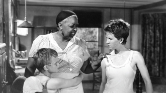 Ethel Waters with Brandon deWilde and Julie Harris