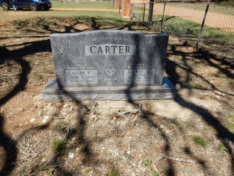 Lafray Carter Gravesite