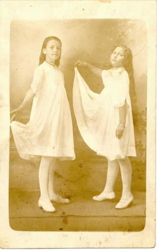 Two Girls Dancing