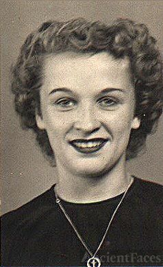 Joan Fairly high school picture