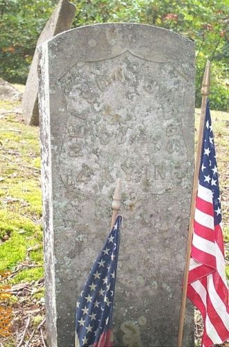 Nelson Boggs Headstone
