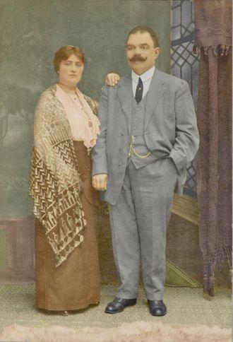 Fannie & Abraham Baum