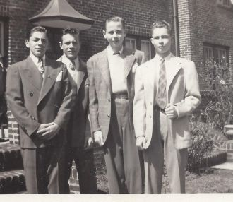 James Grinnell Blanchard and buddies
