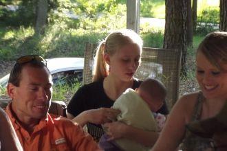 Wesley , Desi and Dawn Hodge