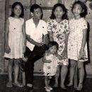 Garcia Family,Palo, Leyte Eastern Visayas Philippines 1960's